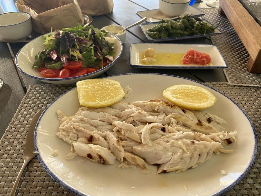 W Ibiza Chirinquito Blue sea bass