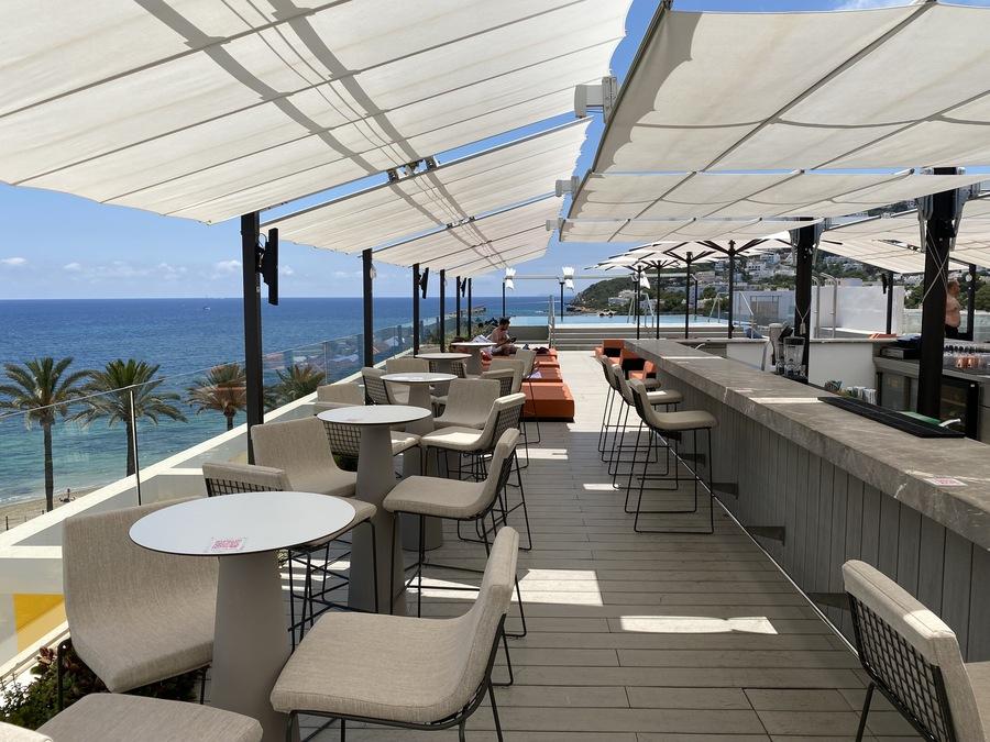 W Ibiza Glow rooftop bar