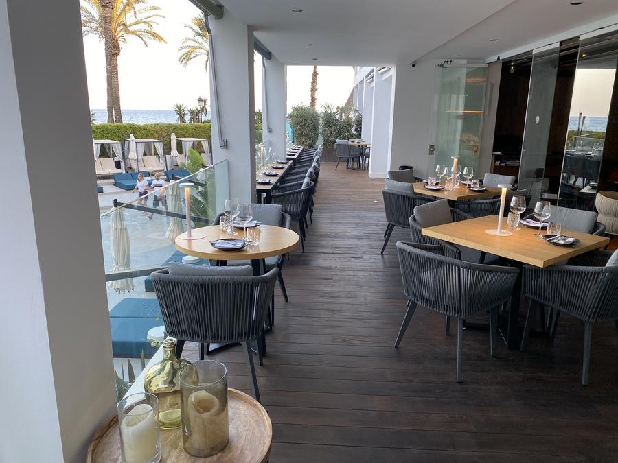 W Ibiza La Llama balcony