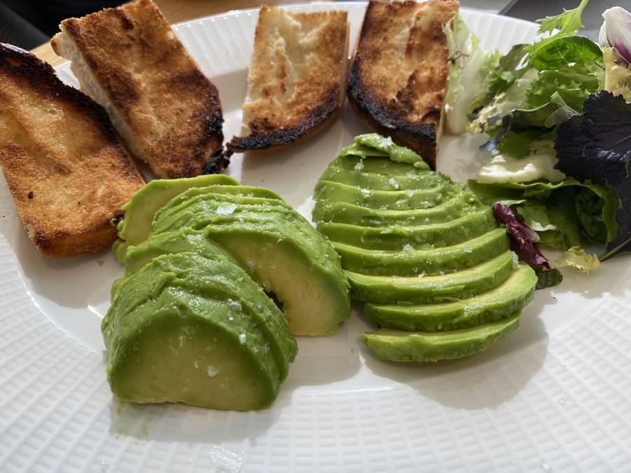 W Ibiza avocado toast