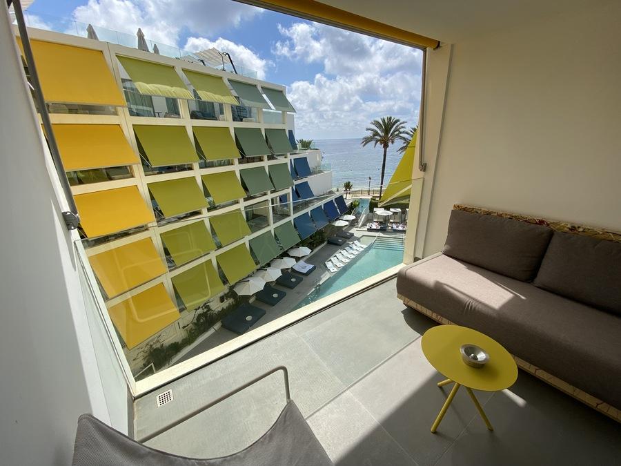 W Ibiza balcony