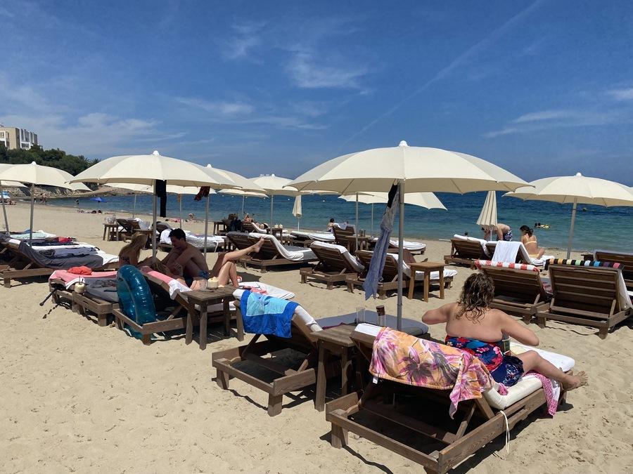 W Ibiza beach club