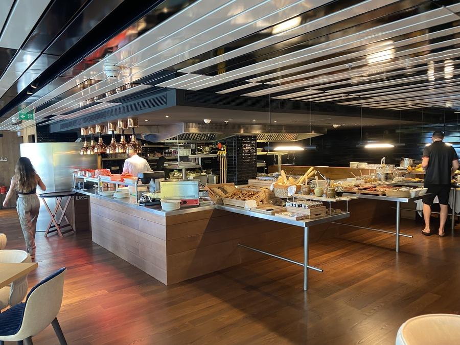 W Ibiza breakfast buffet