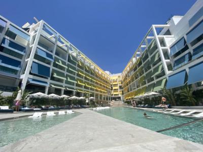 W Ibiza pools