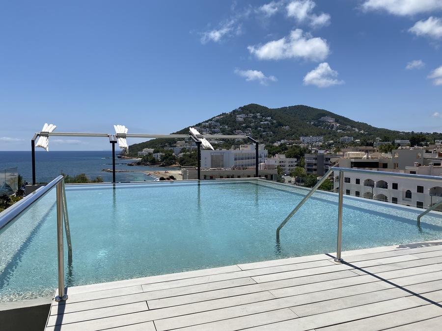 W Ibiza rooftop pool