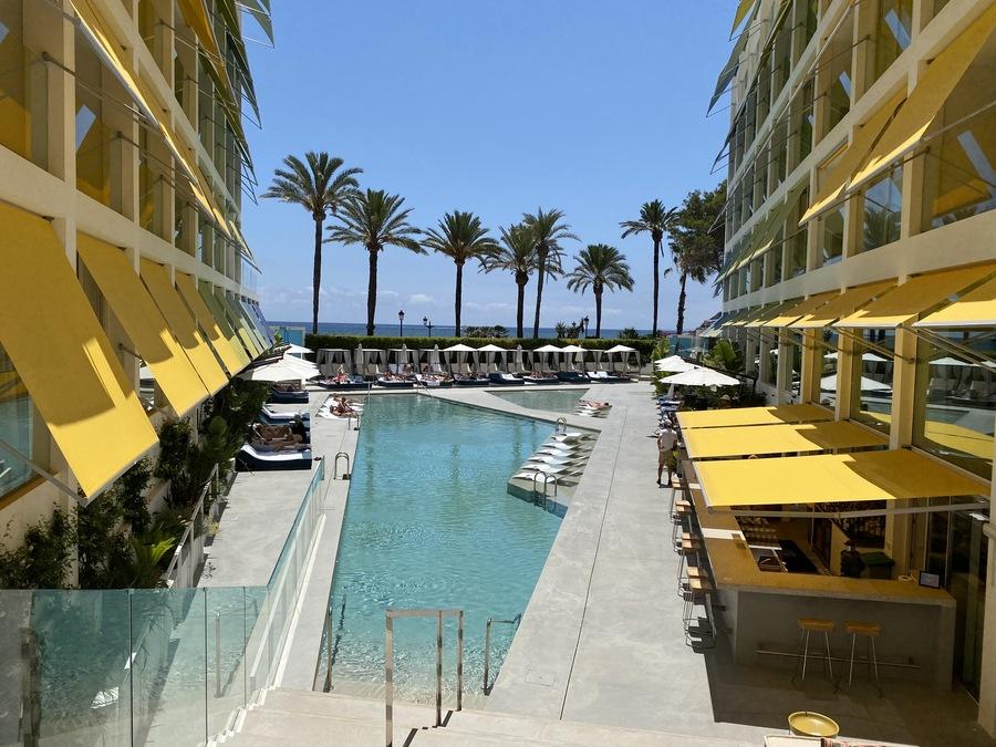 W Ibiza view