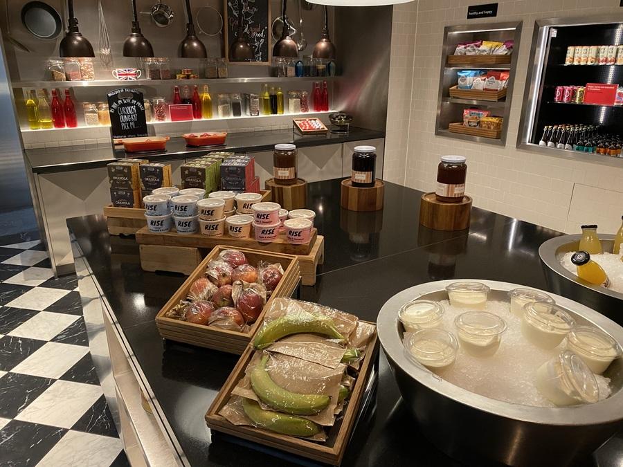 citizenM Tower of London breakfast buffet
