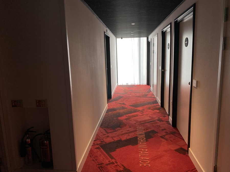 citizenM Tower of London corridor