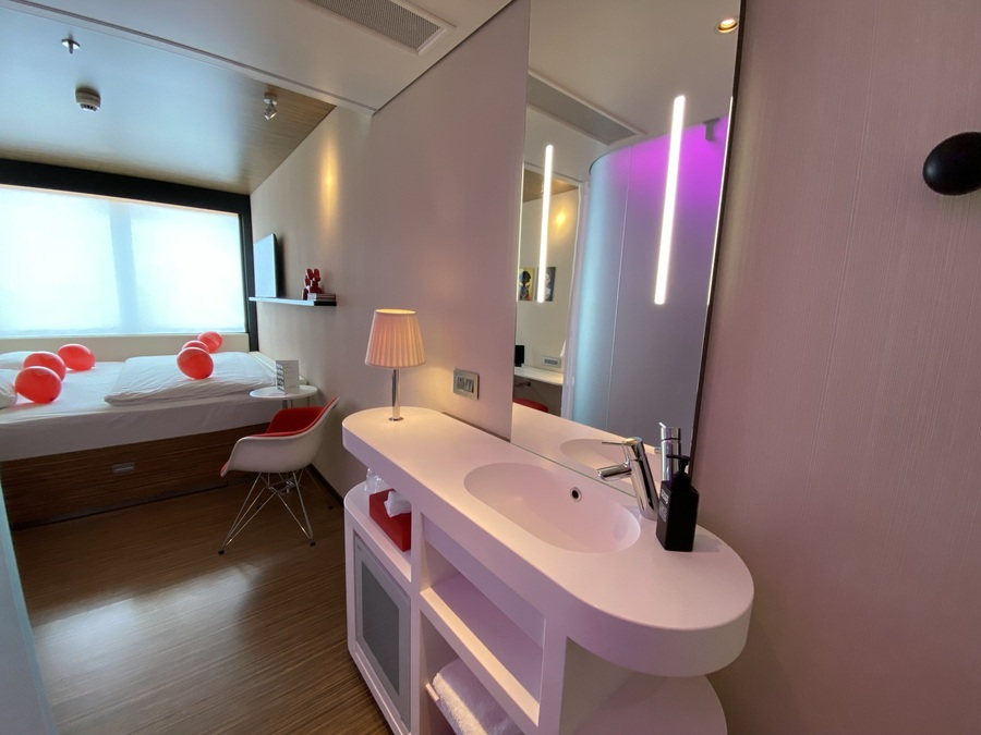 citizenM Tower of London sink