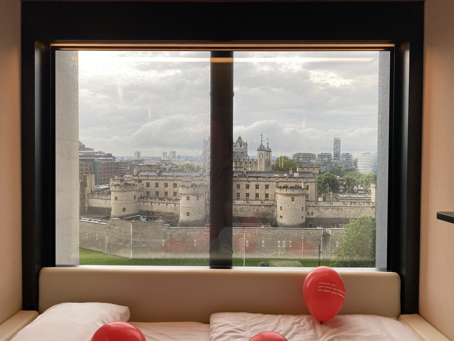 citizenM Tower of London view