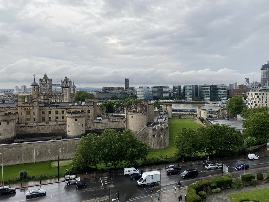 citizenM Tower of London views
