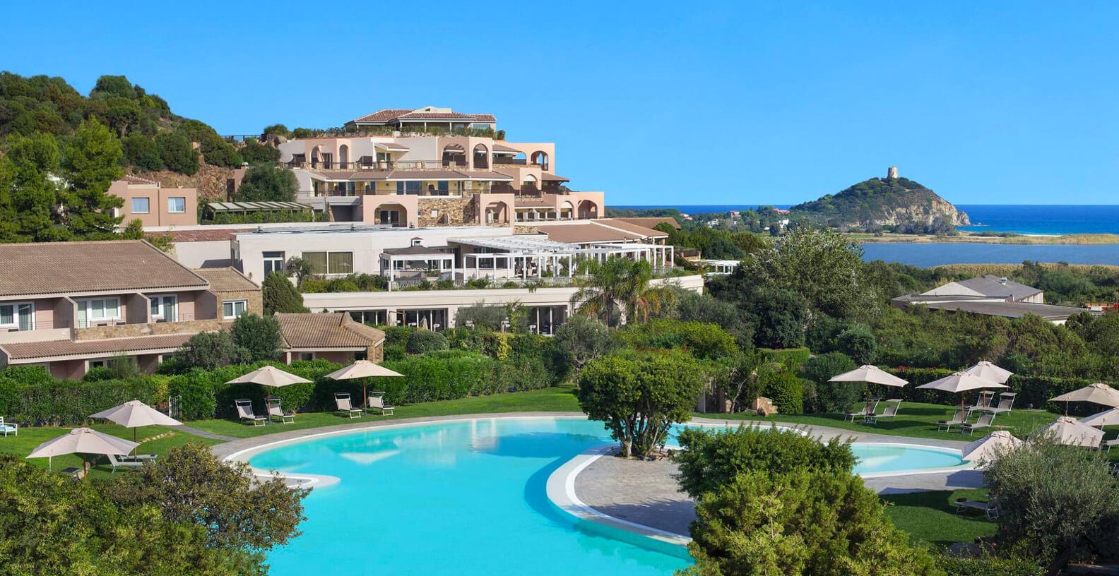 Conrad Laguna hotel Sardinia