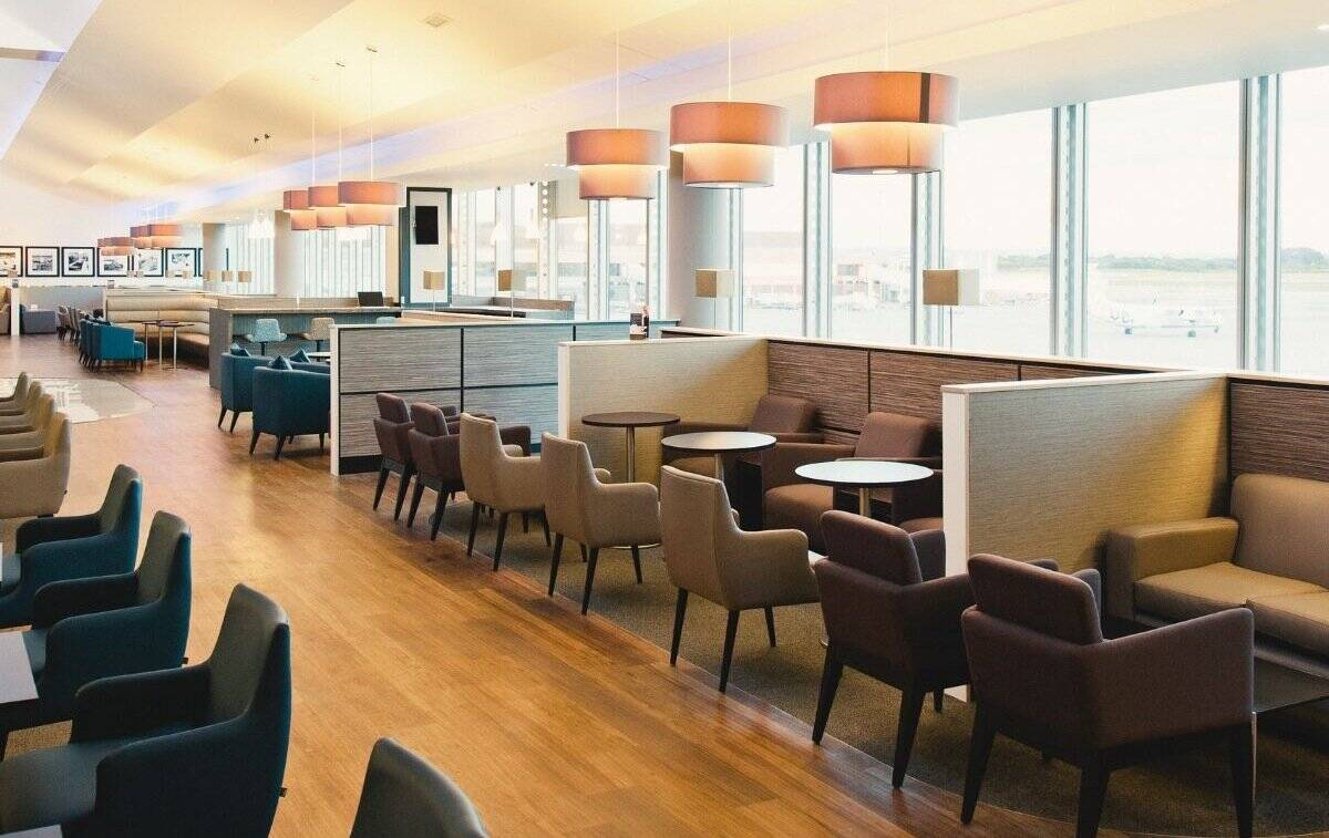 Aspire lounge Manchester Airport Terminal 1