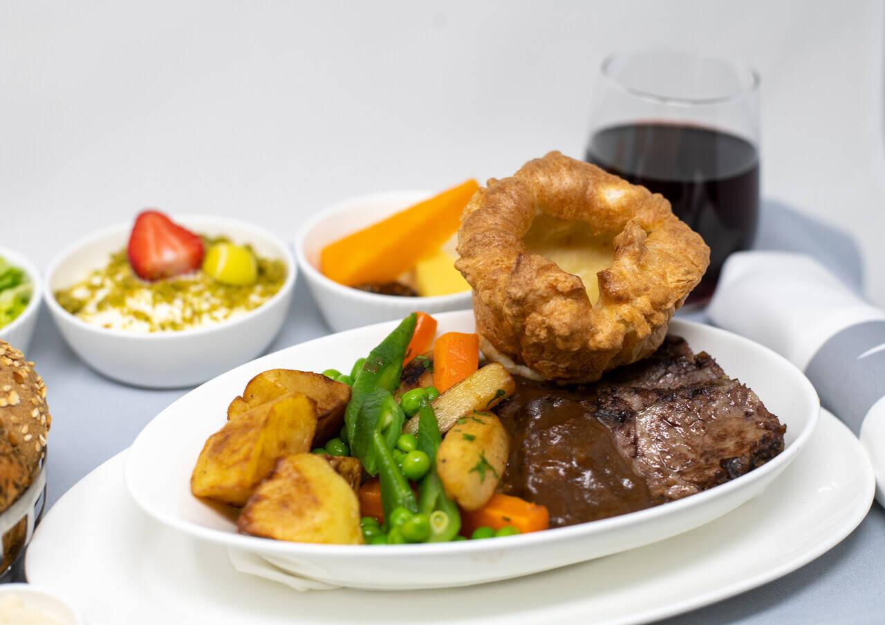 British Airways best of British food festival
