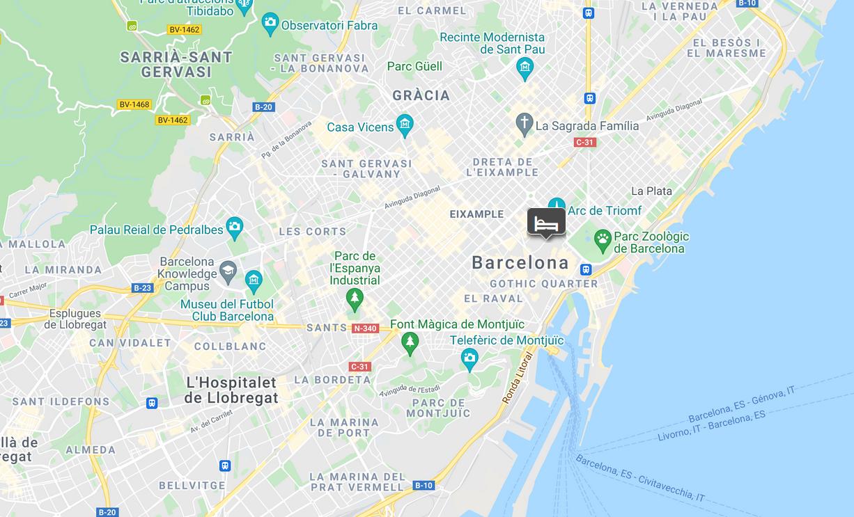 EDITION Barcelona location
