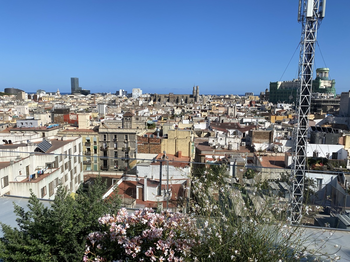 EDITION Barcelona roof view