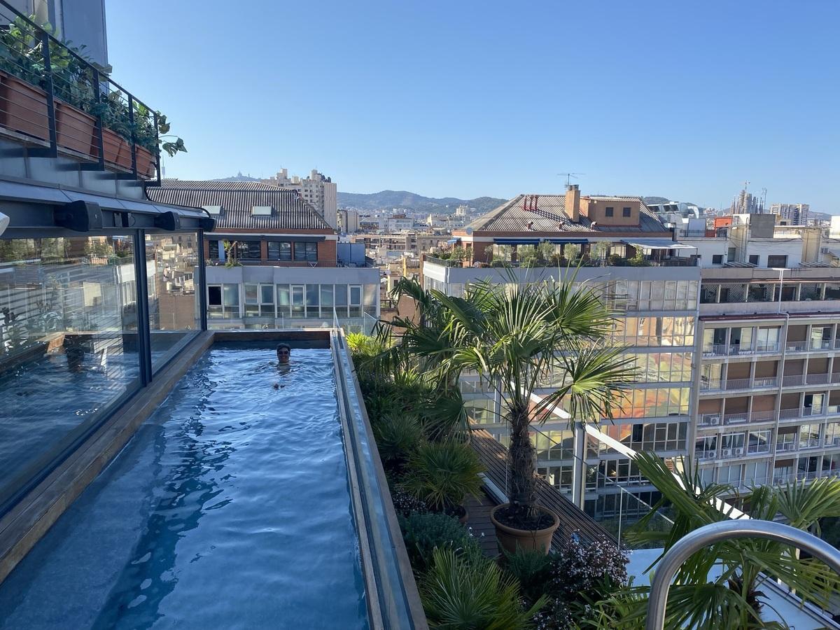 EDITION Barcelona rooftop pool