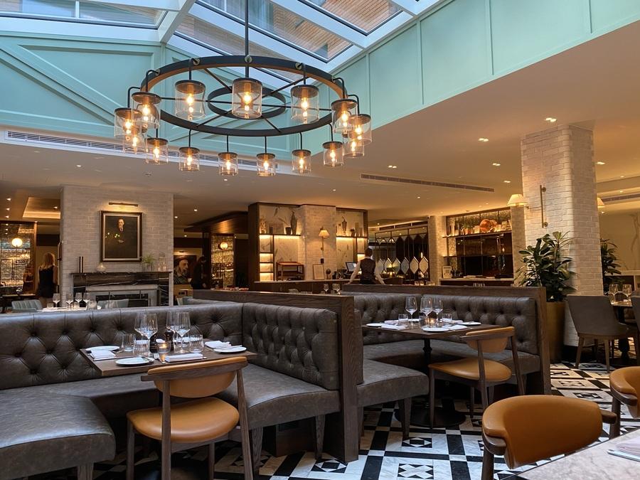 Fellows House Cambridge Folio Kitchen restaurant