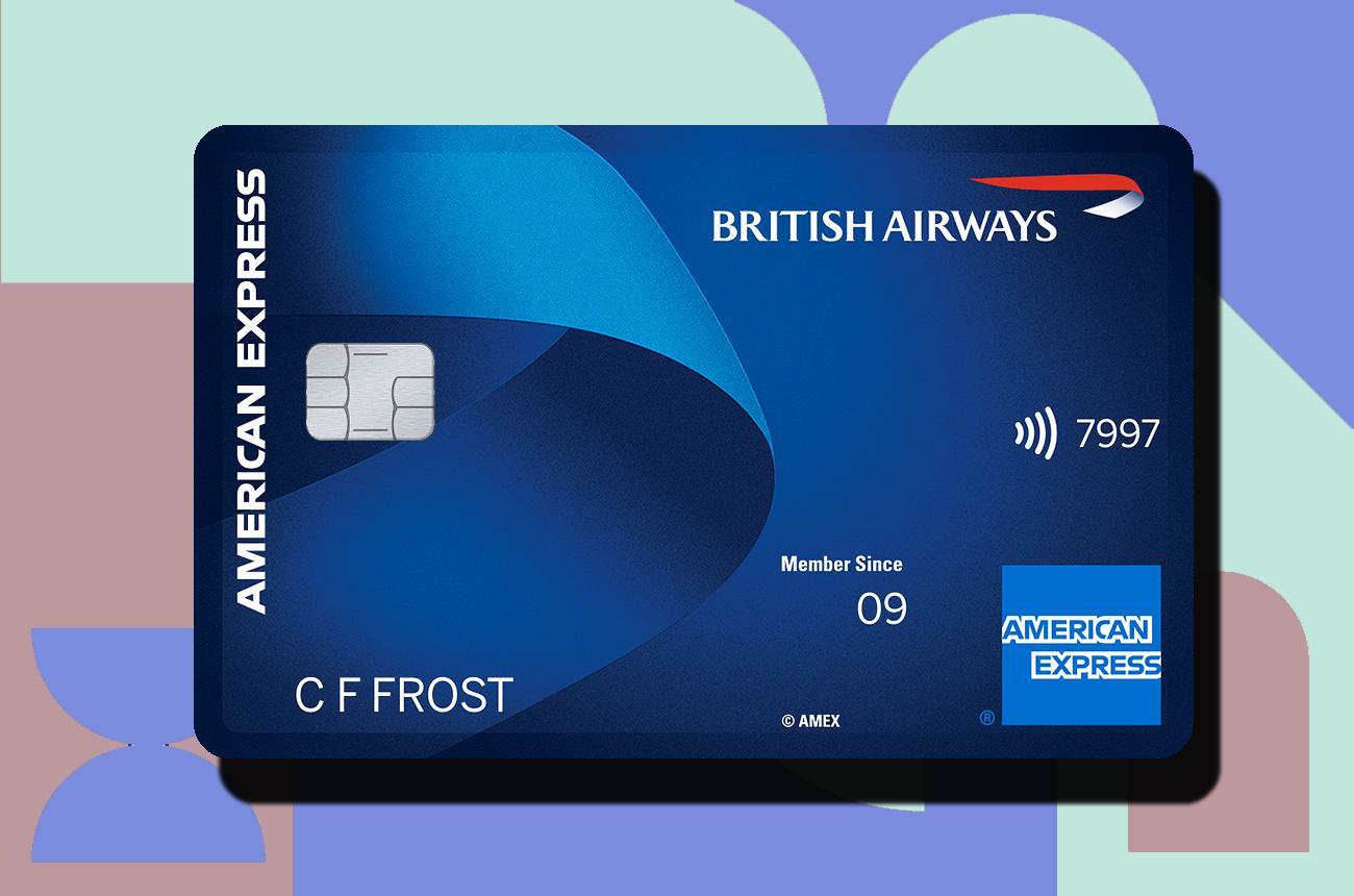 British Airways BA Amex American Express