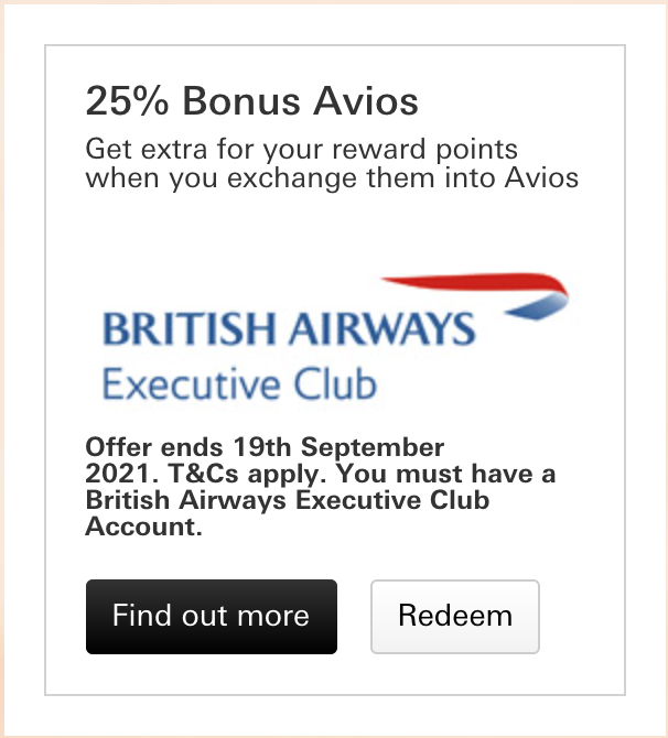 HSBC Premier to Avios bonus