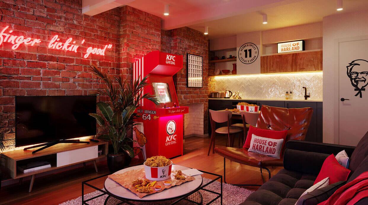 London's KFC popup hotel