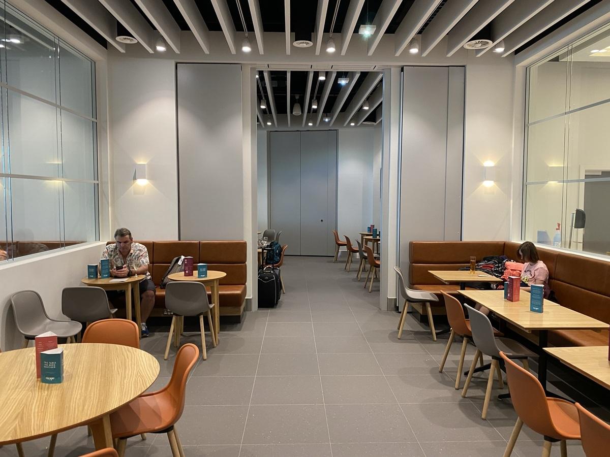 Manchester Airport T2 EScape lounge flexible space