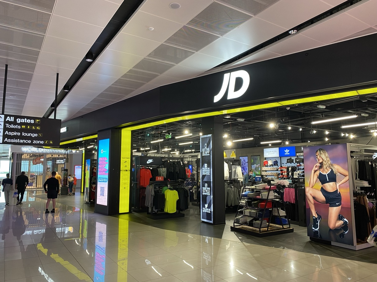 Manchester Airport T2 JD Sports