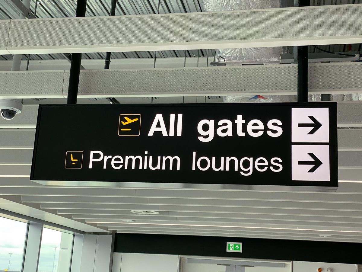 Manchester Airport premium lounges