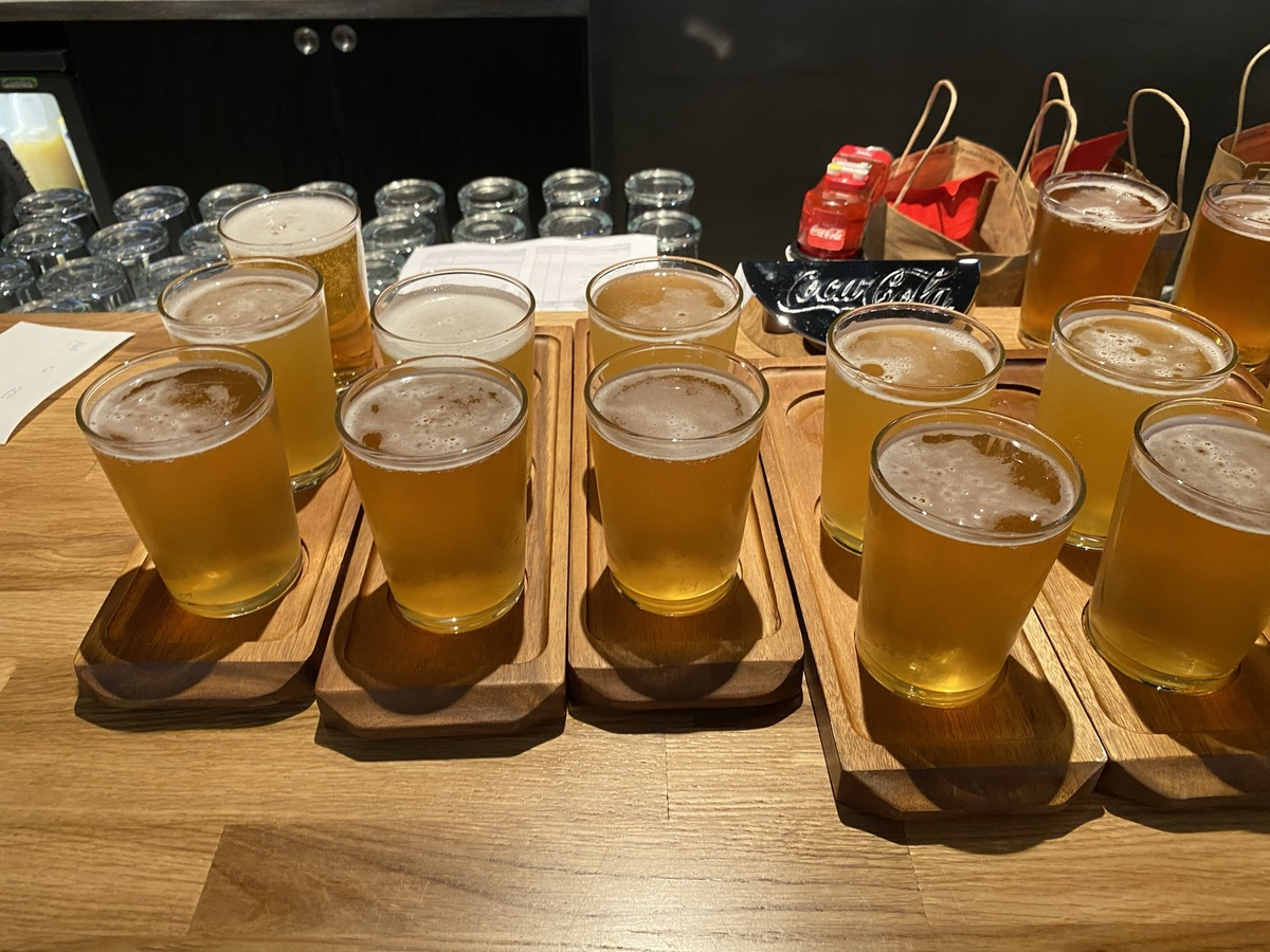 Manchester T2 Amber Alehouse beers