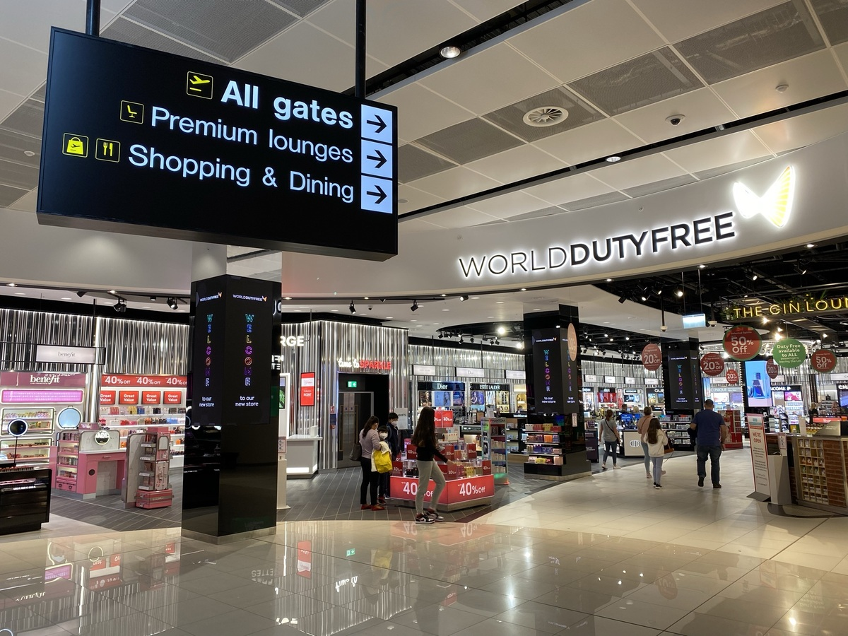 Manchester T2 duty free