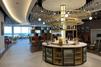 Manchester Terminal 2 1903 lounge alcohol island