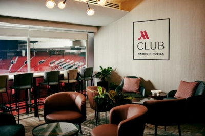 Marriott suite at Old Trafford Manchester