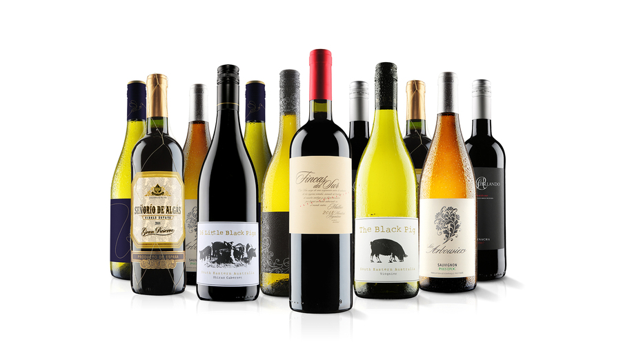 Members Only 12 Bottle Mixed Wine Case Virgin Wines
