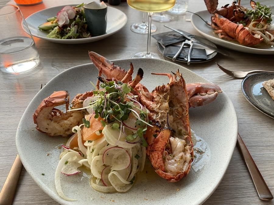 W Barcelona FIRE lobster