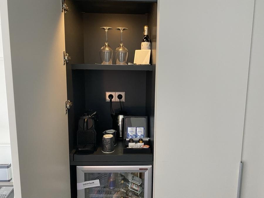 W Barcelona Nespresso machine