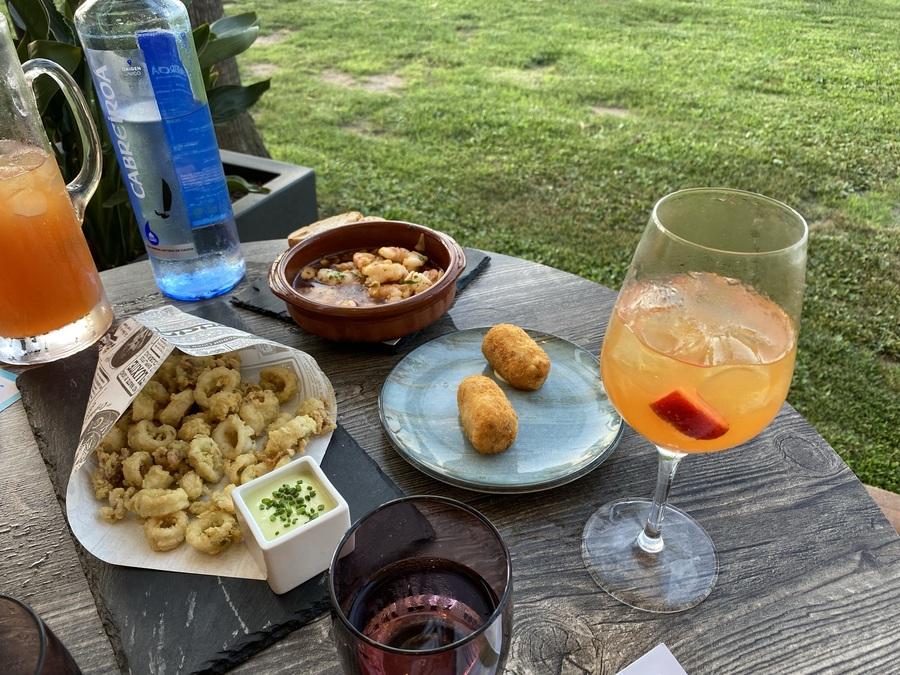 W Barcelona Salt calamari croquettes