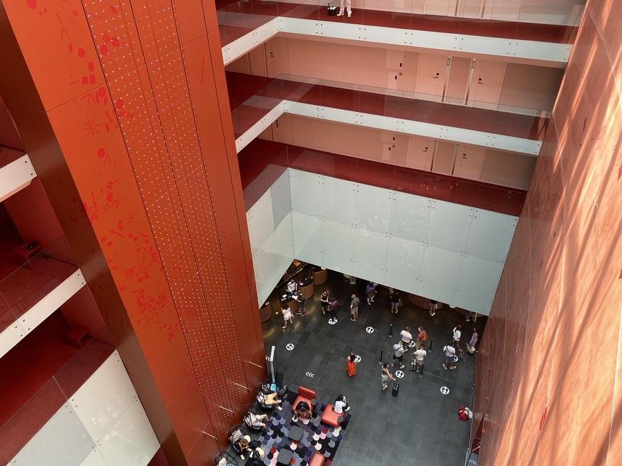 W Barcelona atrium