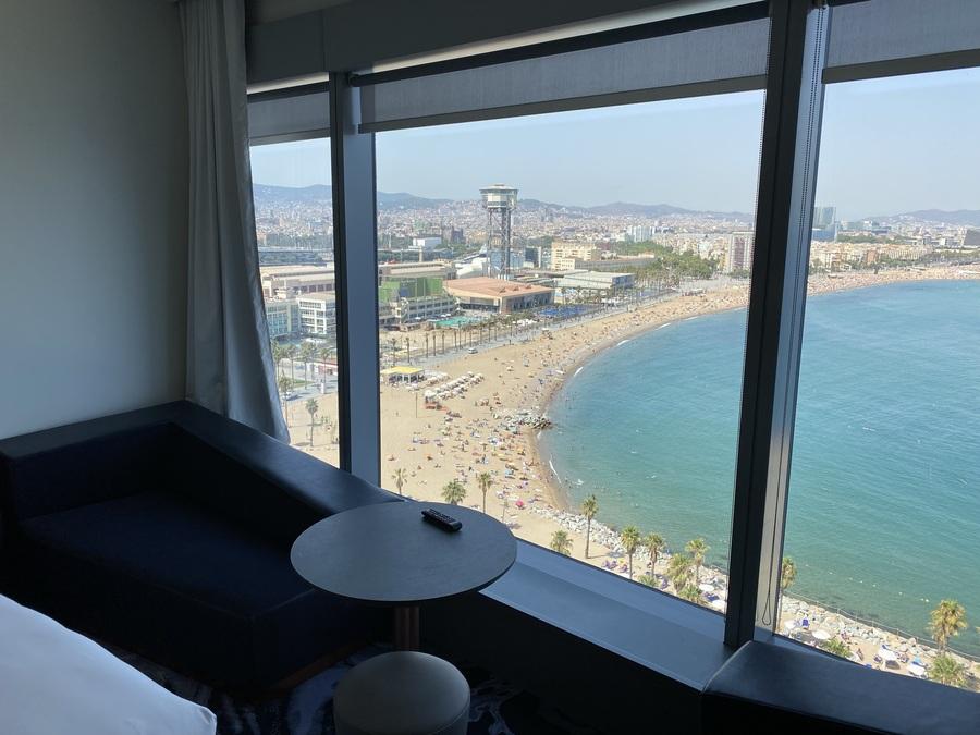 W Barcelona chaiselongue