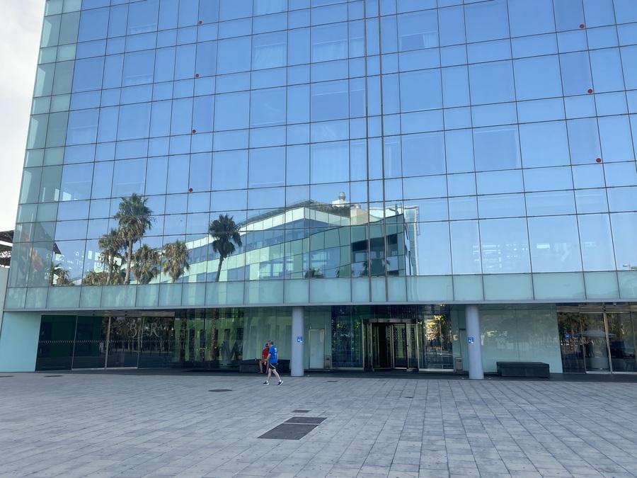 W Barcelona entrance