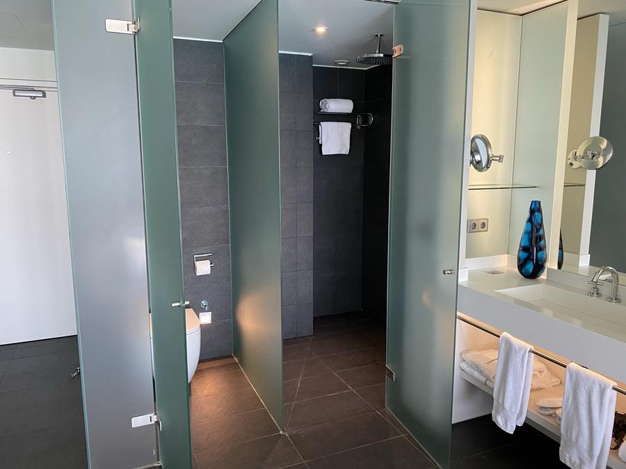 W Barcelona shower