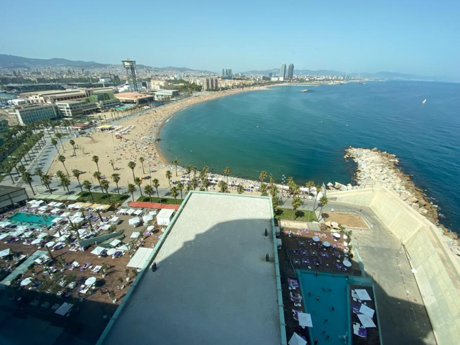 W Barcelona view