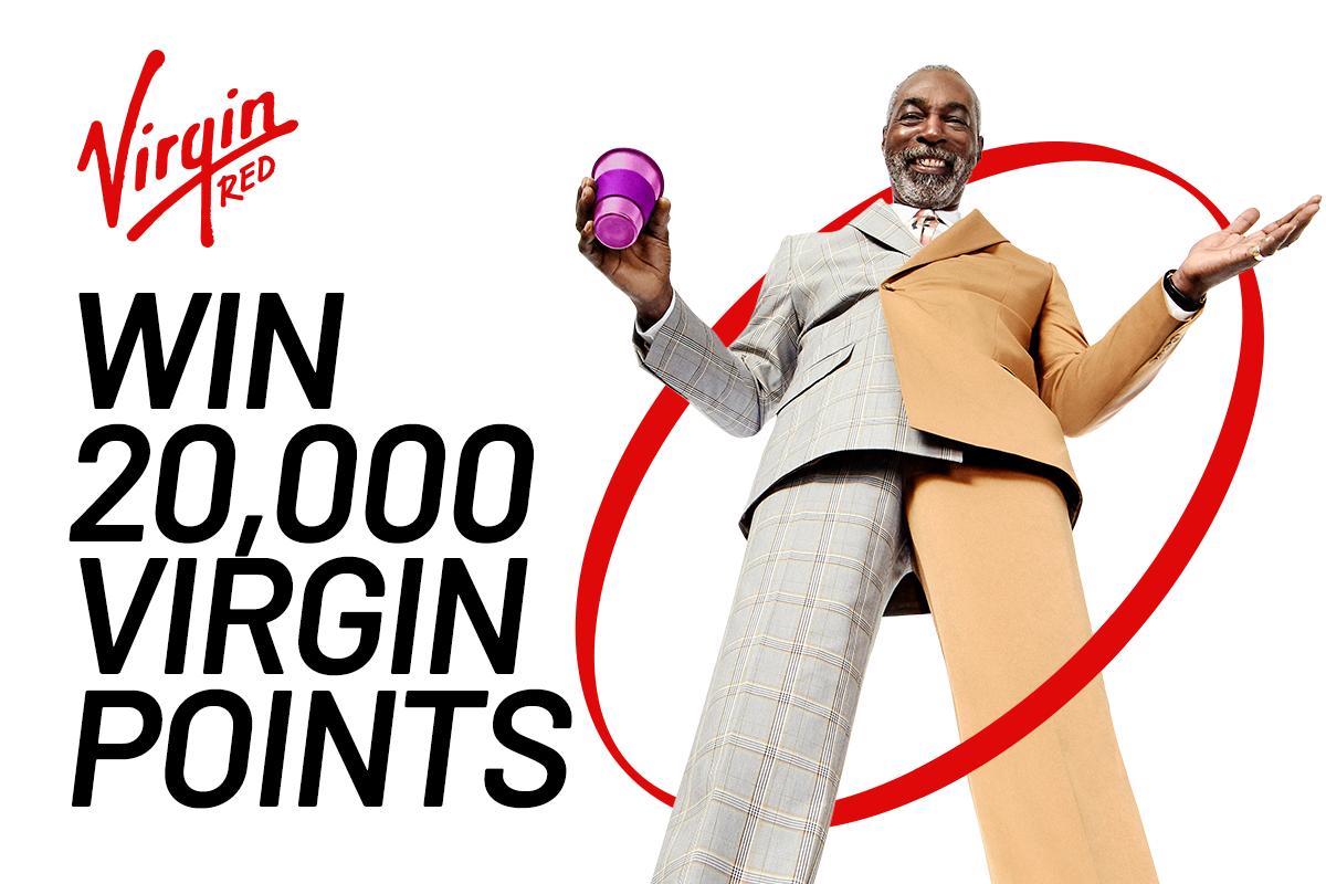 Win 20,000 Virgin Points