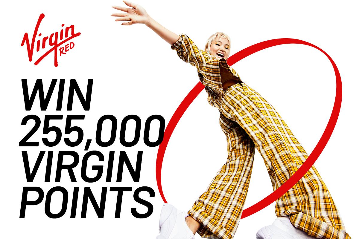Win 255,000 Virgin Points