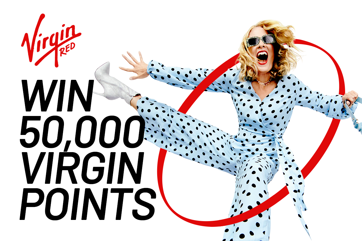 Win 50,000 Virgin Points