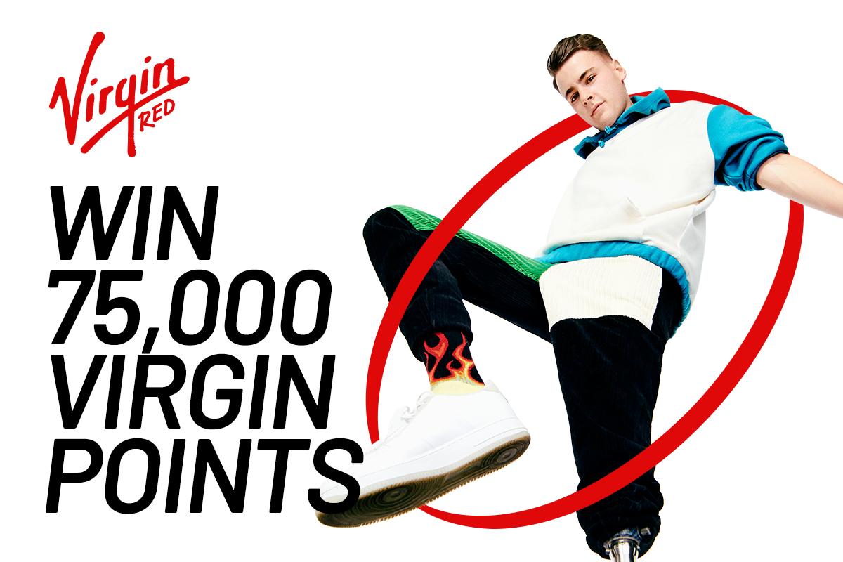 Win 75,000 Virgin Points