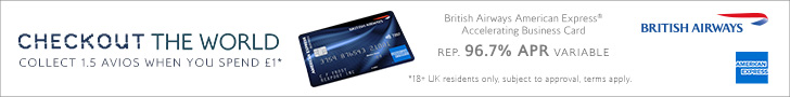 Get 60,000 Avios when you sign up to the British Airways Accelerating Business card