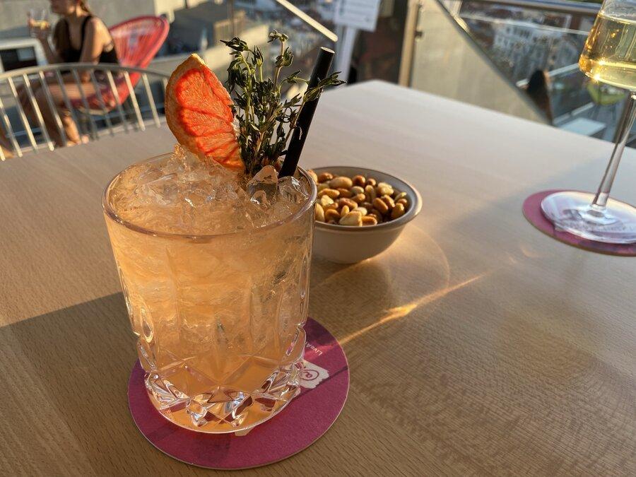 Aloft Madrid Gran Via cocktails