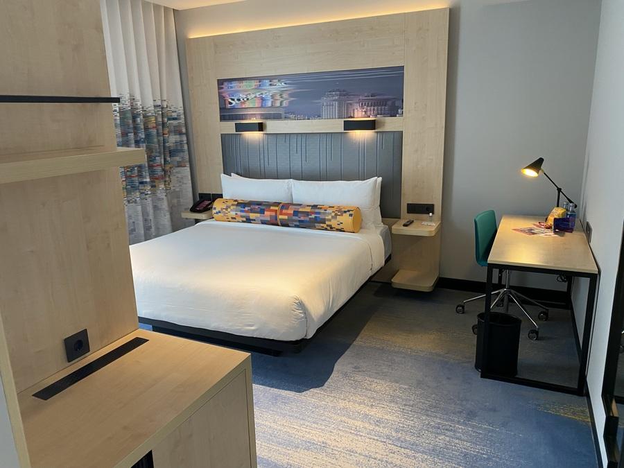 Aloft Madrid Gran Via room