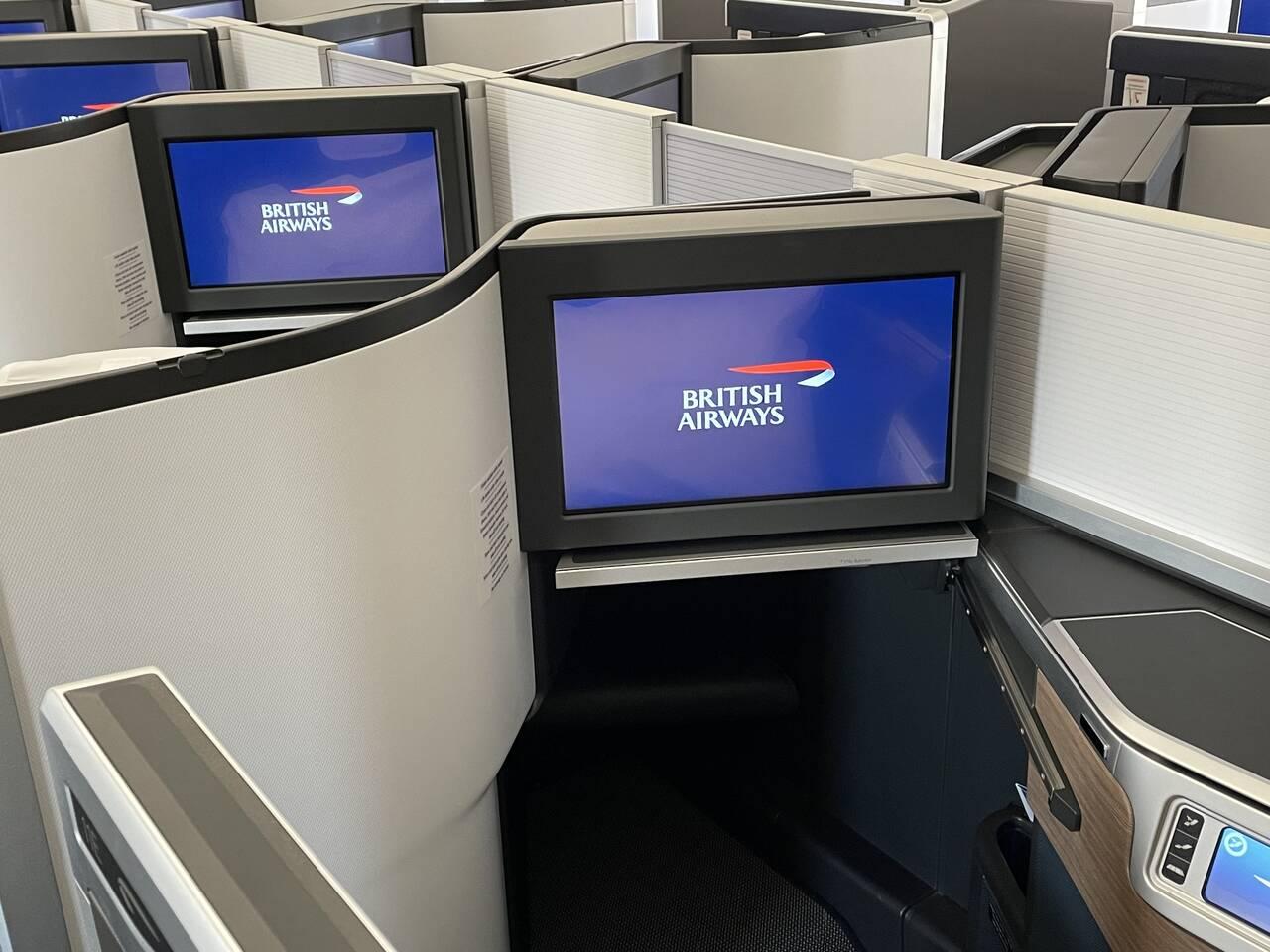 British Airways Avios SeatSpy