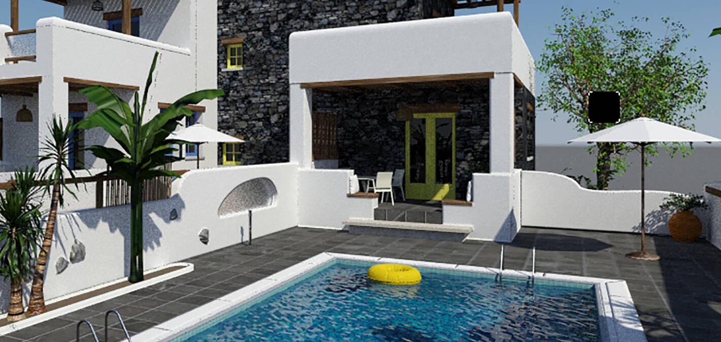 Hilton Curio Santorini Sea Breeze resort